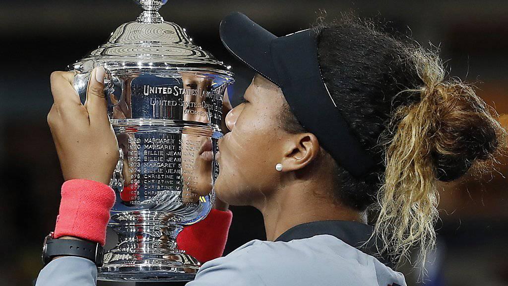 Naomi Osaka war die verdiente Siegerin in einem US-Open-Final, der für viel Gesprächsstoff sorgte