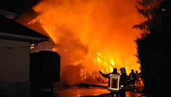 Brand in Kriegstetten