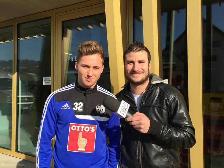 FCL-Nachwuchshoffnung Nicolas Haas im Interview mit Radio Pilatus Sportreporter Marco Zibung.