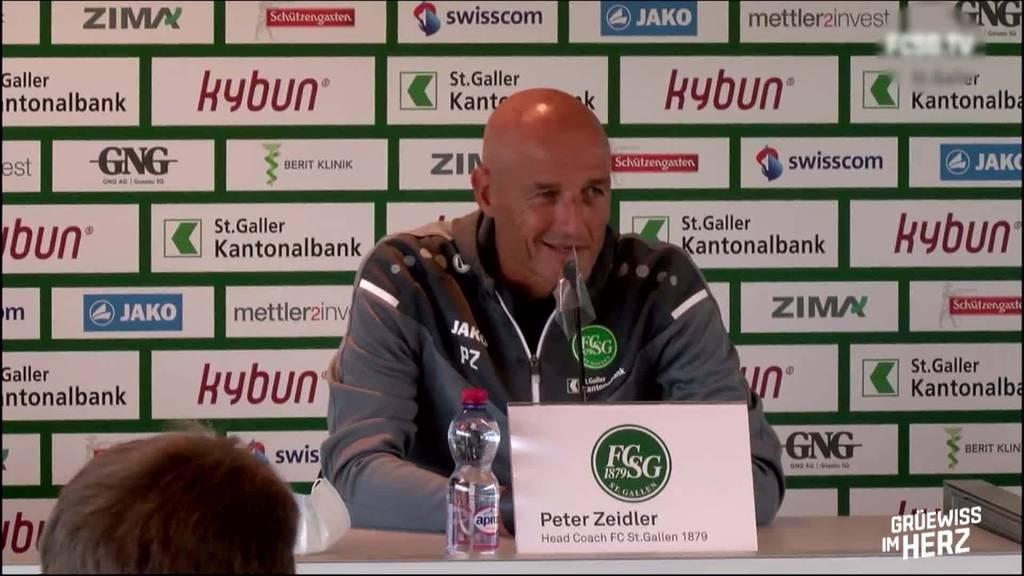FCSG vs. AEK Athen: Spielvorschau mit Peter Zeidler