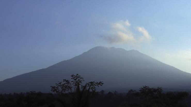 Rund um den Mount Agung wurde evakuiert, da der Vulkan auszubrechen droht (Archiv)