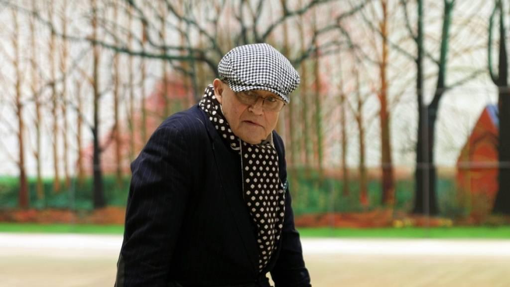 David Hockney kommt mit Monumentalgemälde nach Luzern