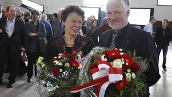 Esther Gassler und Peter Gomm