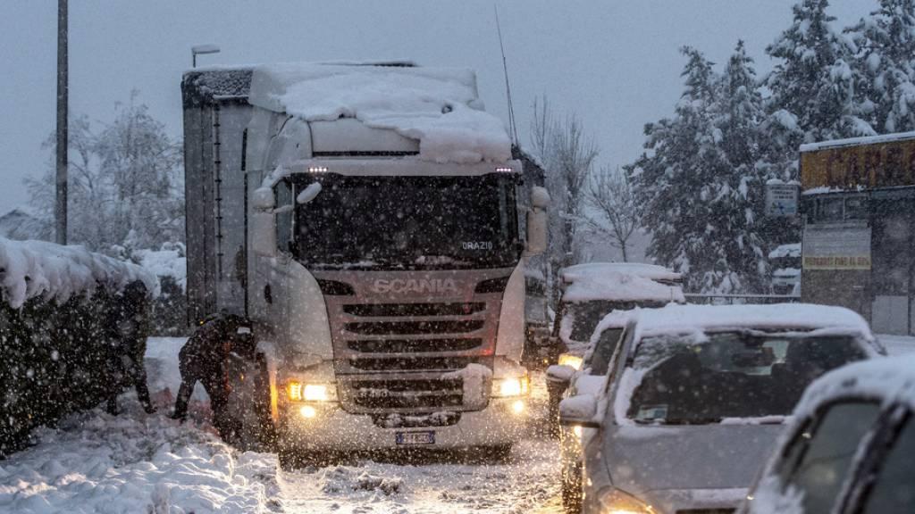 Viel Neuschnee vor allem im Tessin, Wallis und Graubünden
