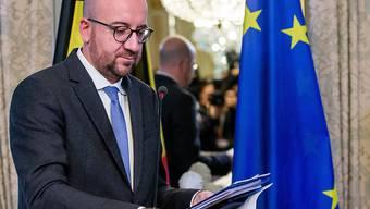 Der belgische Premier Charles Michel hat am Donnerstag eine Einigung zu Ceta verkündet. (Archiv)