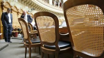 Auf beinahe jedem dritten Stuhl im Nationalrat wird in der nächsten Session ein Neuling Platz nehmen.