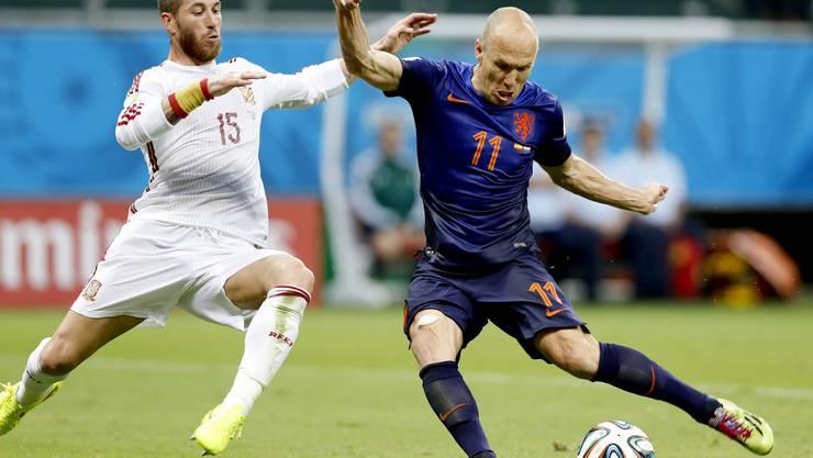 Robben gegen Ramos