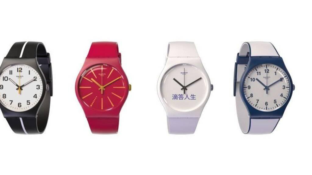 Taugen auch zum bargeldlosen Zahlen: Swatch-Bellamy-Uhren.