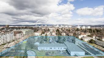 Auf dem ausgewiesenen Bereich an der Ecke Burgfelderstrasse/Luzernerring soll 2015 mit dem Neubau begonnen werden. Grafik/zvg