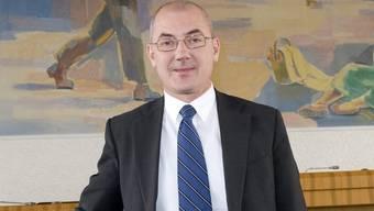 Isaac Reber nach der Wahl im Landratssaal
