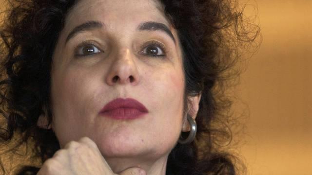 Die Chefin des Suhrkamp Verlages, Ulla Unseld-Berkéwicz, in einer Aufnahme von 2004 (Archiv)