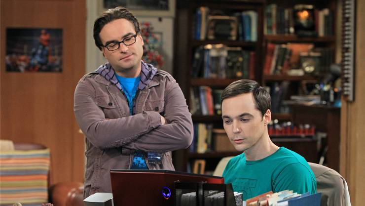 Bedroht: Die Erfolgsserie «The Big Bang Theory». Keystone