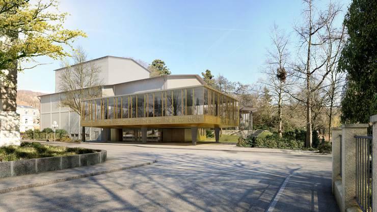 Das neue doppelt so grosse Bölsterli-Foyer