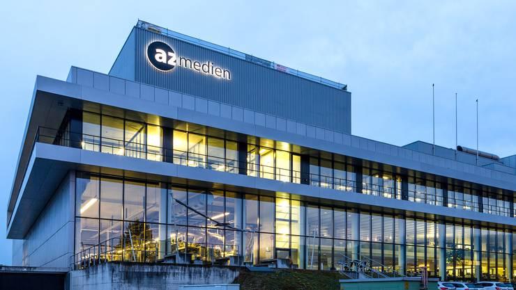 Der Hauptsitz der AZ Medien in Aarau: Das Aargauer Unternehmen geht mit der NZZ ein Joint Venture ein.