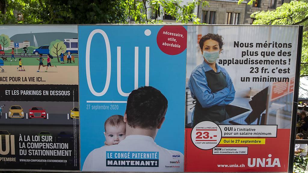 In Genf verdienen alle künftig mindestens 23 Franken pro Stunde