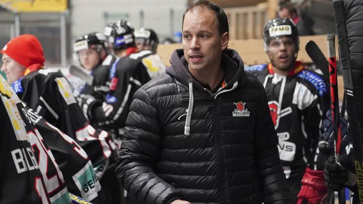 Raphael Zahner befand sich bis vergangenes Wochenende mit seiner Mannschaft in Quarantäne.