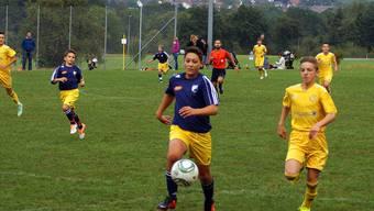 Der Fussballplatz in Tägerig ist zu klein und muss vergrössert werden.