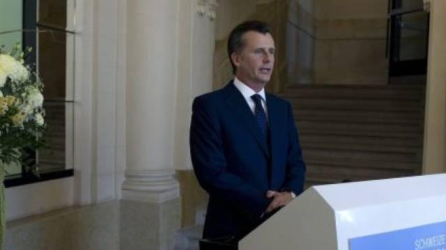 Philipp Hildebrand, ehemaliger Präsident der Schweizerischen Nationalbank (SNB), äusserte sich vor einem Jahr zur Koppelung des Schweizer Franken an den Euro. Foto: Peter Schneider - Keystone