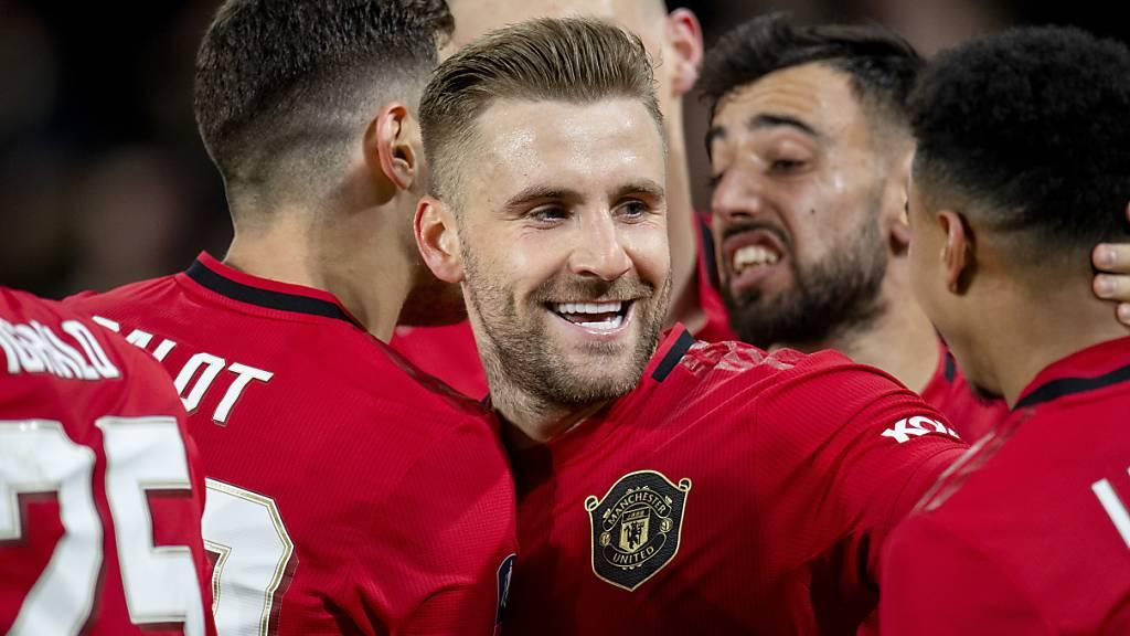 Manchester United letzter Viertelfinalist