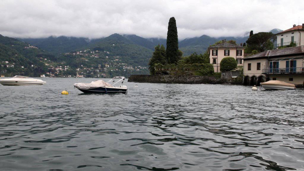 In der Region Como ist eine junge Schweizerin nach einem Bad im See als vermisst gemeldet worden. (Archivbild)