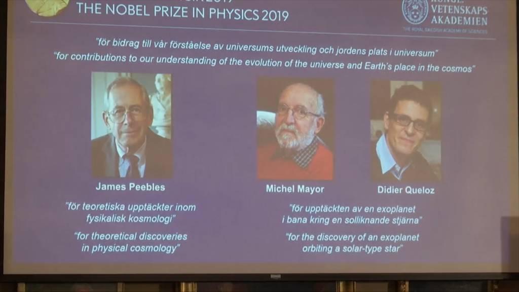 Physik-Nobelpreis geht an Entdecker des ersten Exoplaneten