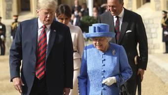 Queen empfängt Trump (13.07.18)