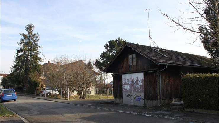 Der Schuppen an der Freiestrasse wird abgerissen und auf dem Gelände ein neues Kirchenzentrum gebaut.