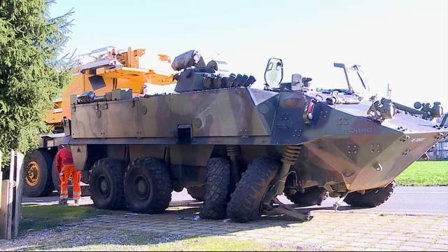 Panzerfahrer wegen Crash in Brunegg verurteilt