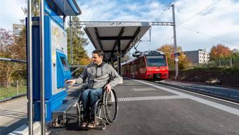 Für rund 3,1 Millionen Franken ausgebaut: die Haltestelle Triemli.