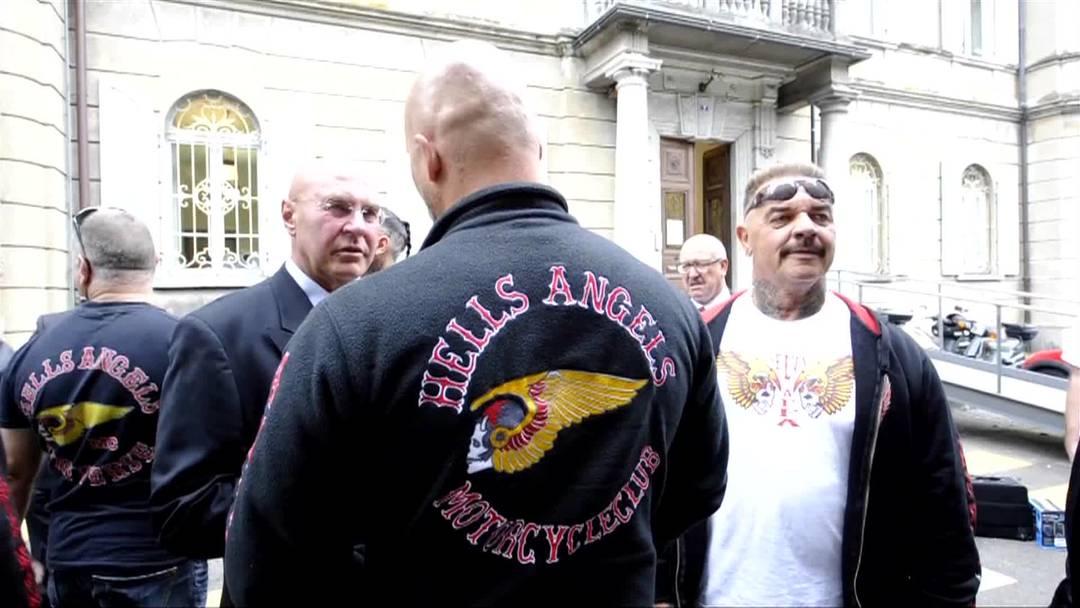 Prozessbeginn für die Hells Angels vor dem Bundesstrafgericht in Bellinzona