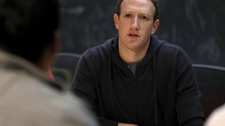 """""""Es gibt zu viel Sensationsgier, Falschinformationen und Polarisierung in der Welt"""": Facebook-Gründer Mark Zuckerberg. (Archivbild)"""