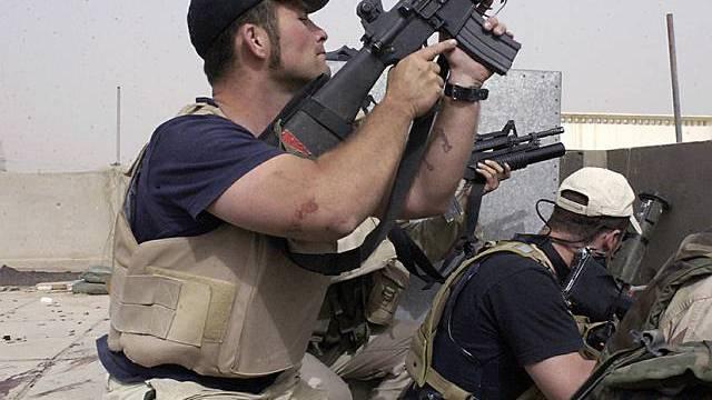 Zahlreiche Söldner waren im Irak im Einsatz (Archiv)