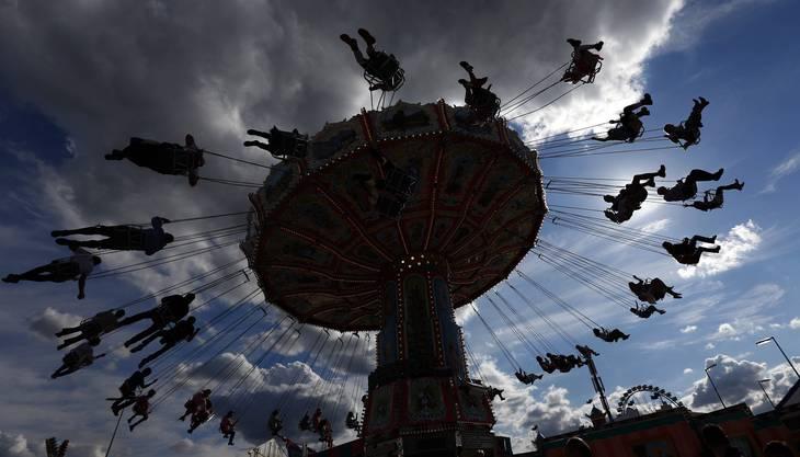 Impressionen vom ersten Tag am Münchner Oktoberfest 2015.