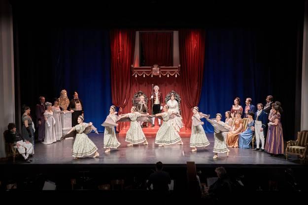 Die Operettenbühne Bremgarten feierte am 23. März eine gelungene Premiere ihrer Saison 2019.
