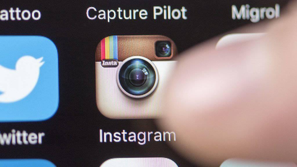 Instagram-App auf einem Smartphone: Die Foto-Plattform hat mehr als eine halbe Milliarde Nutzer.