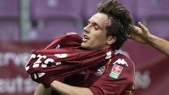 Servettes Geoffrey Tréand verwandelte in der Nachspielzeit einen Penalty