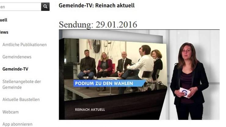 Diese Sendung des Gemeinde-TVs war der Anfang der ganzen Kontroverse.