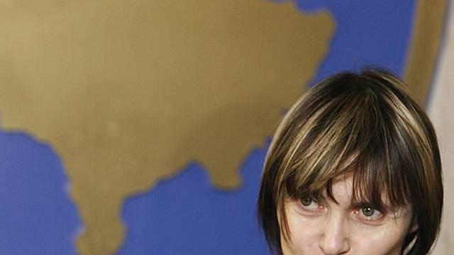 Die Schweizer Aussenministerin Calmy-Rey