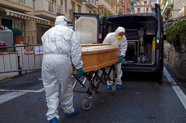 Bilder aus dem Krisengebiet: In Bergamo wütete das Coronavirus monatelang.