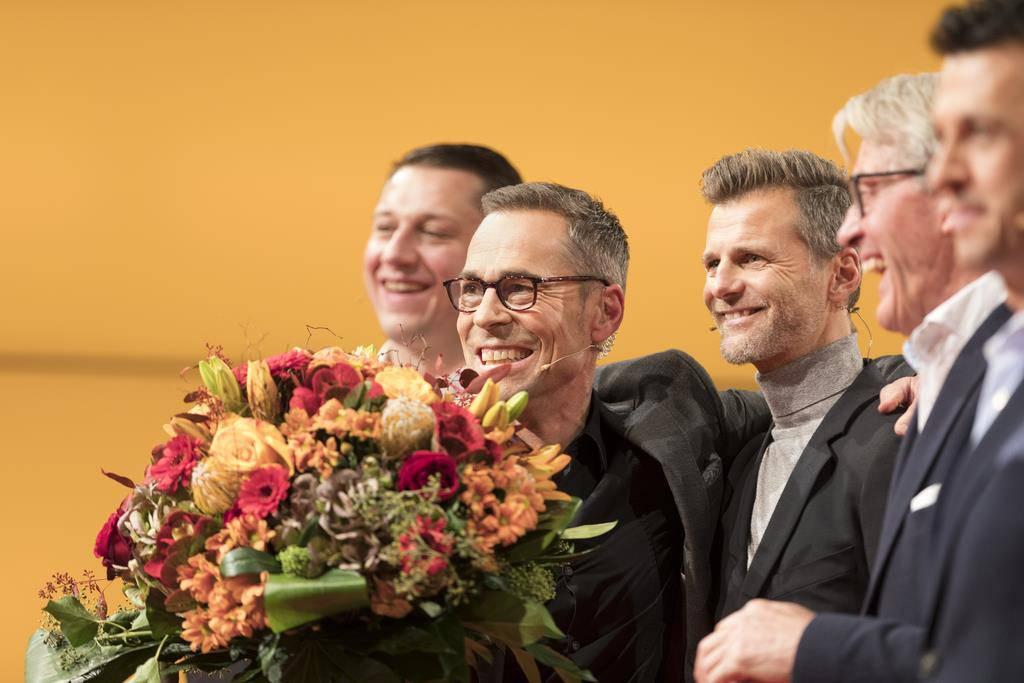 Alain Sutter und Matthias Hüppi kennen sich von gemeinsamen Zeiten beim SRF.