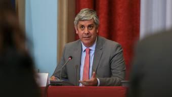 Gilt als Favorit für den Eurogruppen-Vorsitz: Der portugiesische Finanzminister Mario Centeno. (Archiv)