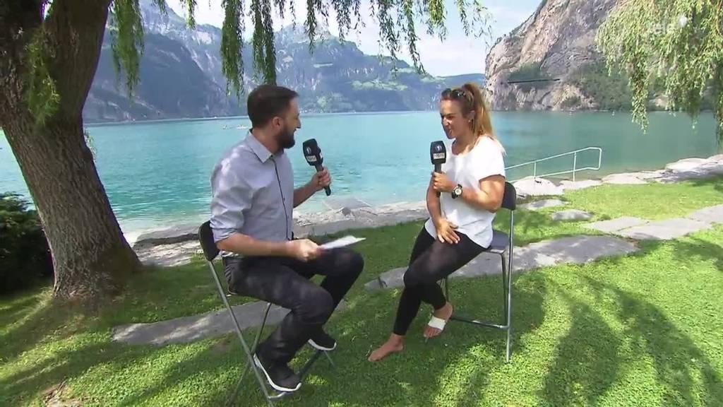 Heidi Ulrich im Gespräch