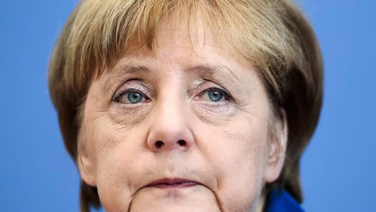 """Hat die Gunst ihrer Landsleute verloren: Bundeskanzlerin Angela Merkel. """"Wir schaffen das"""" wollen die Deutschen im Zusammenhang mit der wachsenden Zuwanderung von Flüchtlingen nicht mehr hören. Viel eher dürfte es jetzt heissen: """"Wir wollen das nicht."""""""