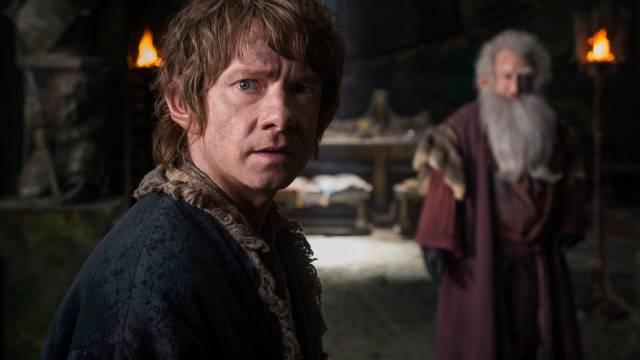 Filmszene aus dem dritten Hobbit-Film