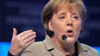 Die deutsche Kanzlerin Angela Merkel