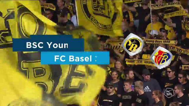 Super League, 2018/19, 7. Runde YB - FC Basel 7:1 Alle Highlights