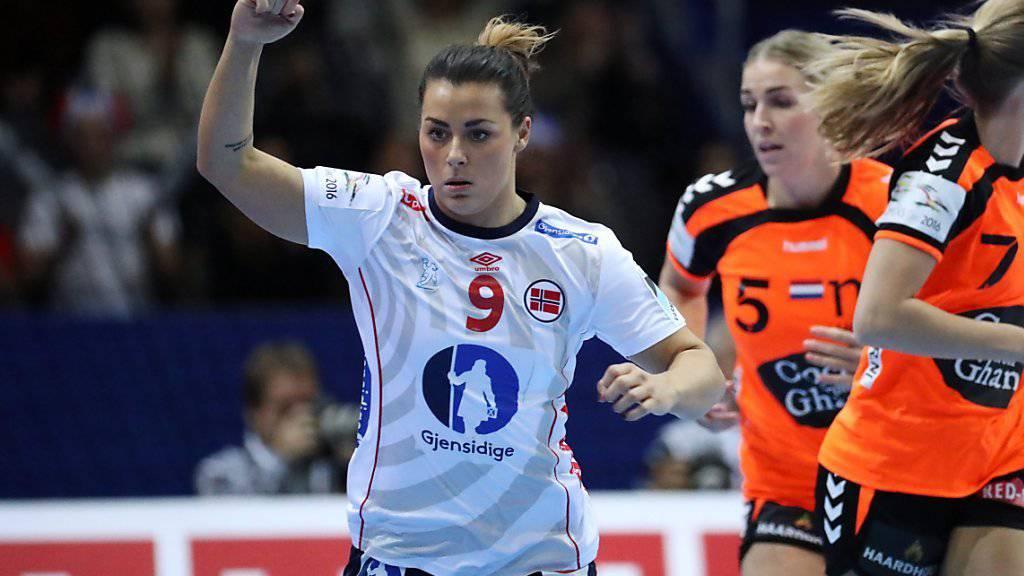 Nora Mörk führte Norwegen zum EM-Sieg