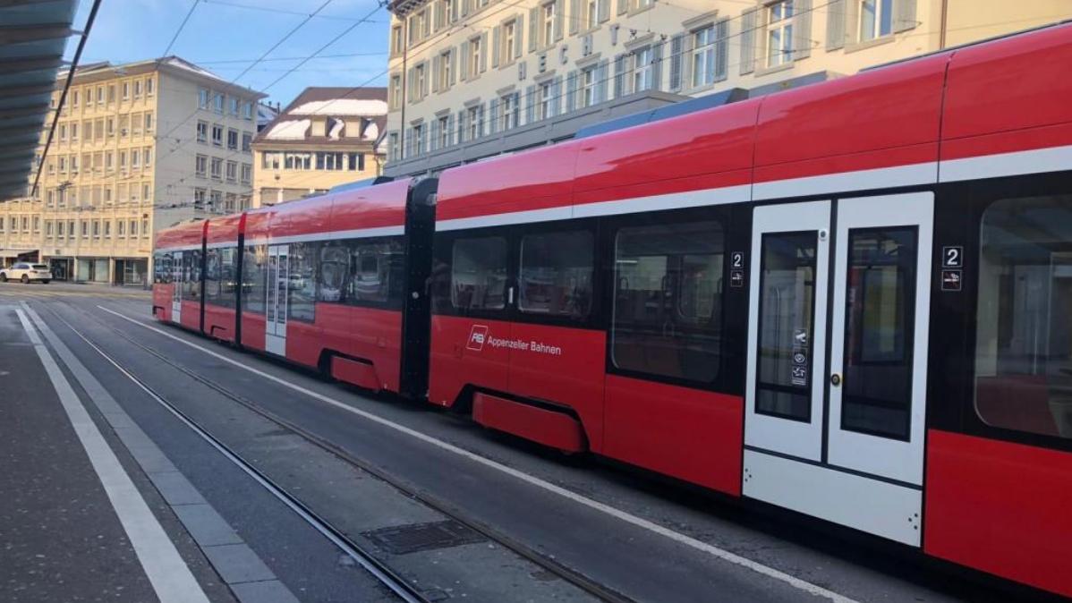 Die Appenzeller Bahn ist am Samstag in St.Gallen während zehn Stunden nicht gefahren.