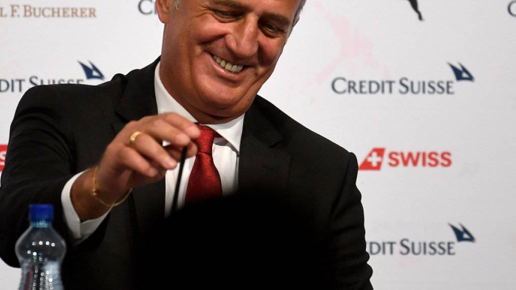 Vladimir Petkovic zeichnet sich als «guter Verkäufer» der Schweizer Nationalmannschaft aus
