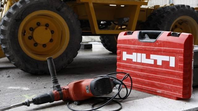 Hilti - Herstellerin der bekannten roten Bohrmaschine